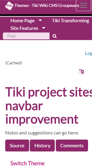 Tiki Project Sites Navbar Improvement   Themes For Tiki Wiki CMS Groupware